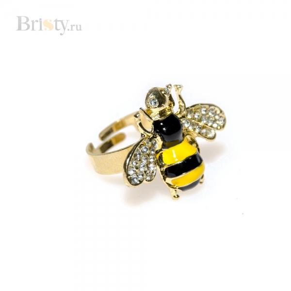 Кольцо с пчелкой