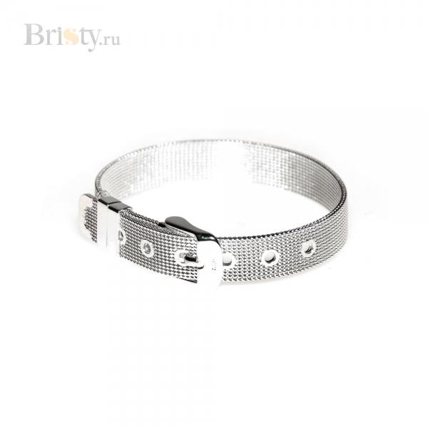 Элегантный браслет из металлического ремешка