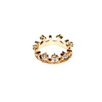 Кольцо - корона со стразами