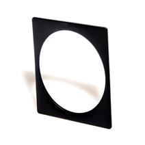 Тонкий черный браслет - квадрат