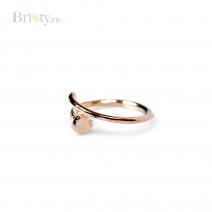 Стильное кольцо в форме гвоздя