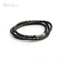 Стильный браслет из плетеного шнурка